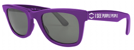 Purple People sunglasses
