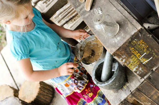 Sensory Mud Kitchen