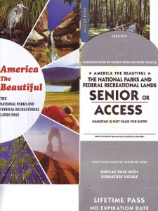 National Parks and Federal Recreational Lands Access Pass,